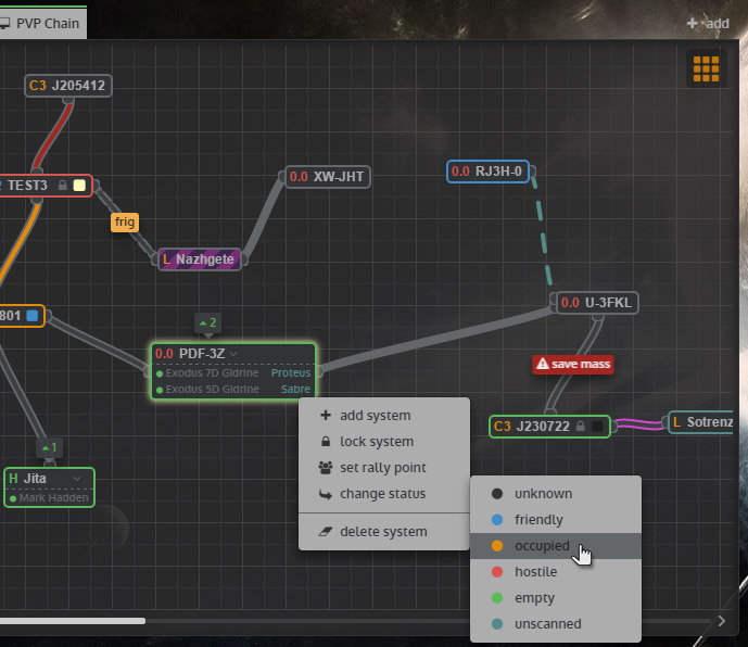 Mapping Wormholes - EVE Online » Krypted Gaming